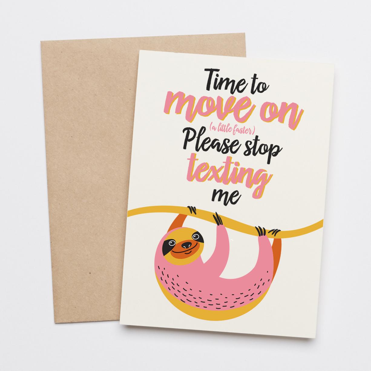 Move on Sloth