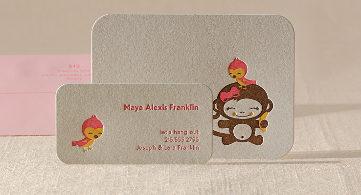 Chunky Monkey Playdate Card