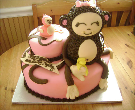 Chunky Monkey Birthday Cake Elum Designs Paper Obsessed BlogElum