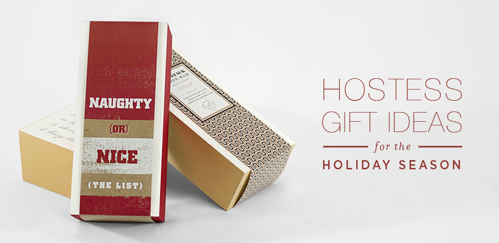 Letterpress holiday gifts