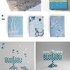 Stylish Hanukkah Gift Wrap and Cards