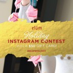 Elum Holiday Instagram Contest