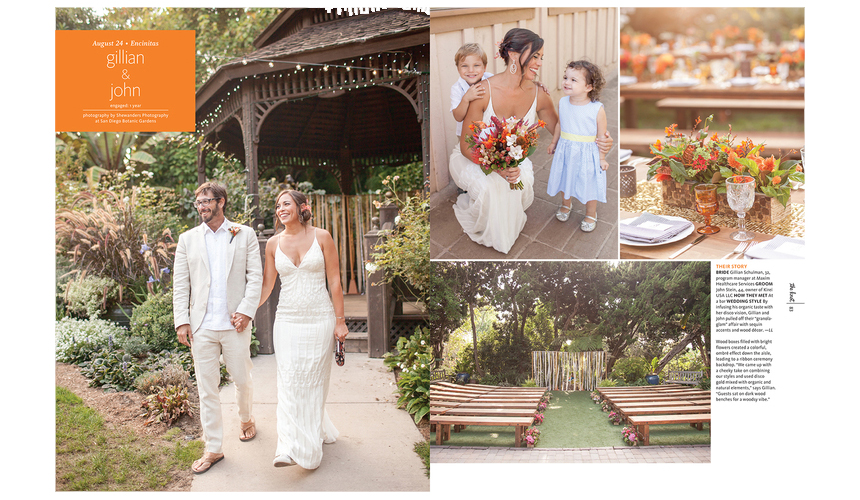 Elum Real Wedding: The Knot Feature