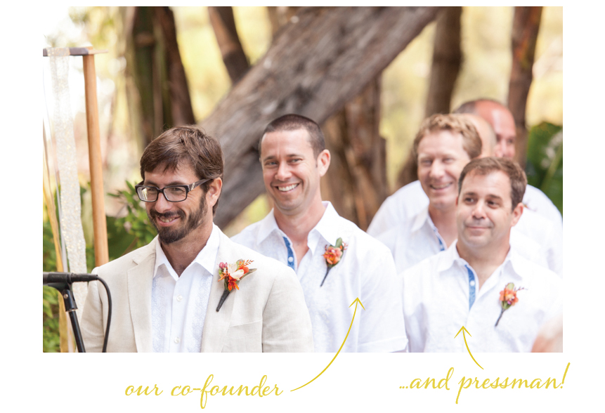 Elum Real Wedding: Groomsmen