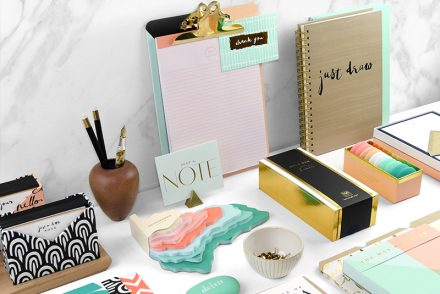Elum | Bijou Desk and Stationery Collection