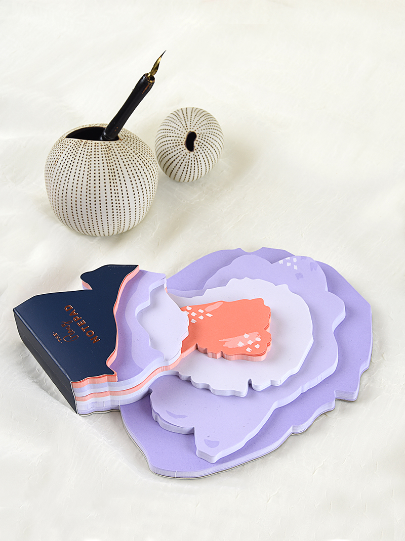 Elum Reverie Collection: Peony Notepad