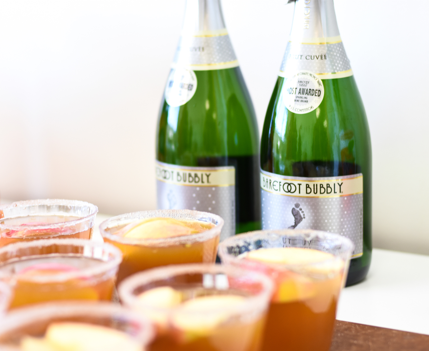 Crafts & Cocktails: Apple Cider Mimosa