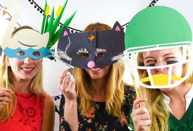 Elum Designs | DIY Paper Halloween Masks