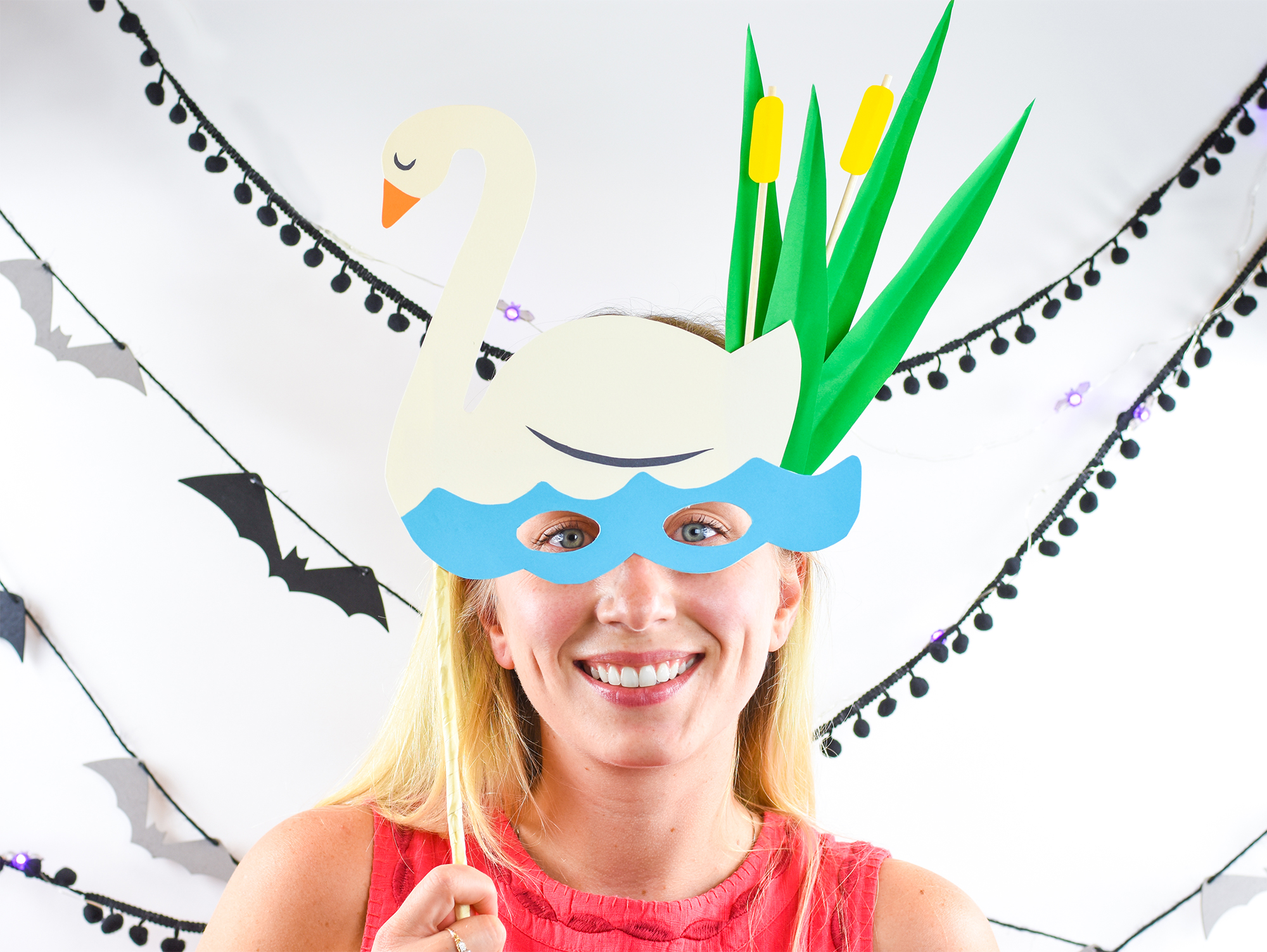 Elum Designs | DIY Paper Halloween Masks