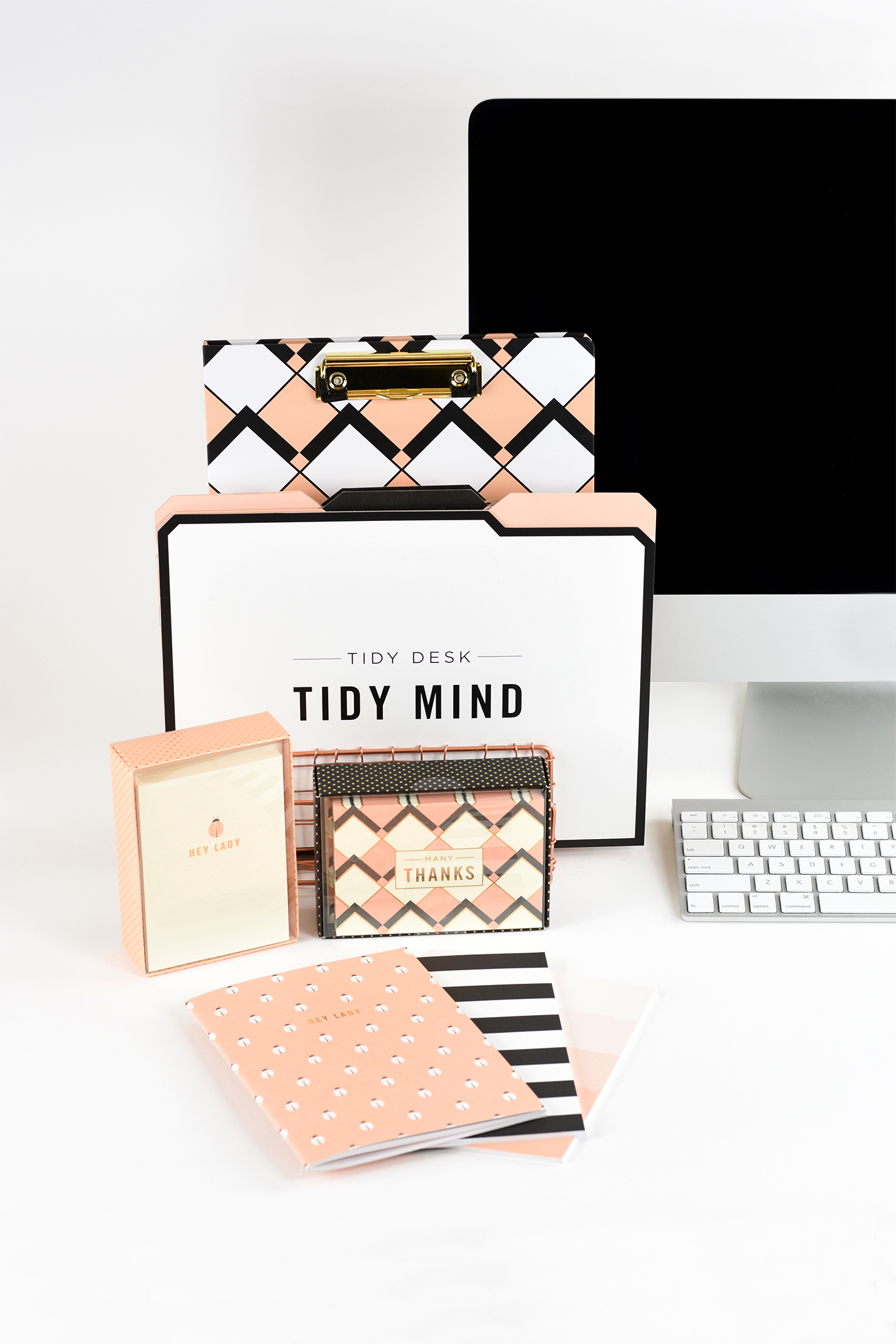 Exclusively at HomeGoods and TJ Maxx : Tailored Lady Desk & Stationery Collection