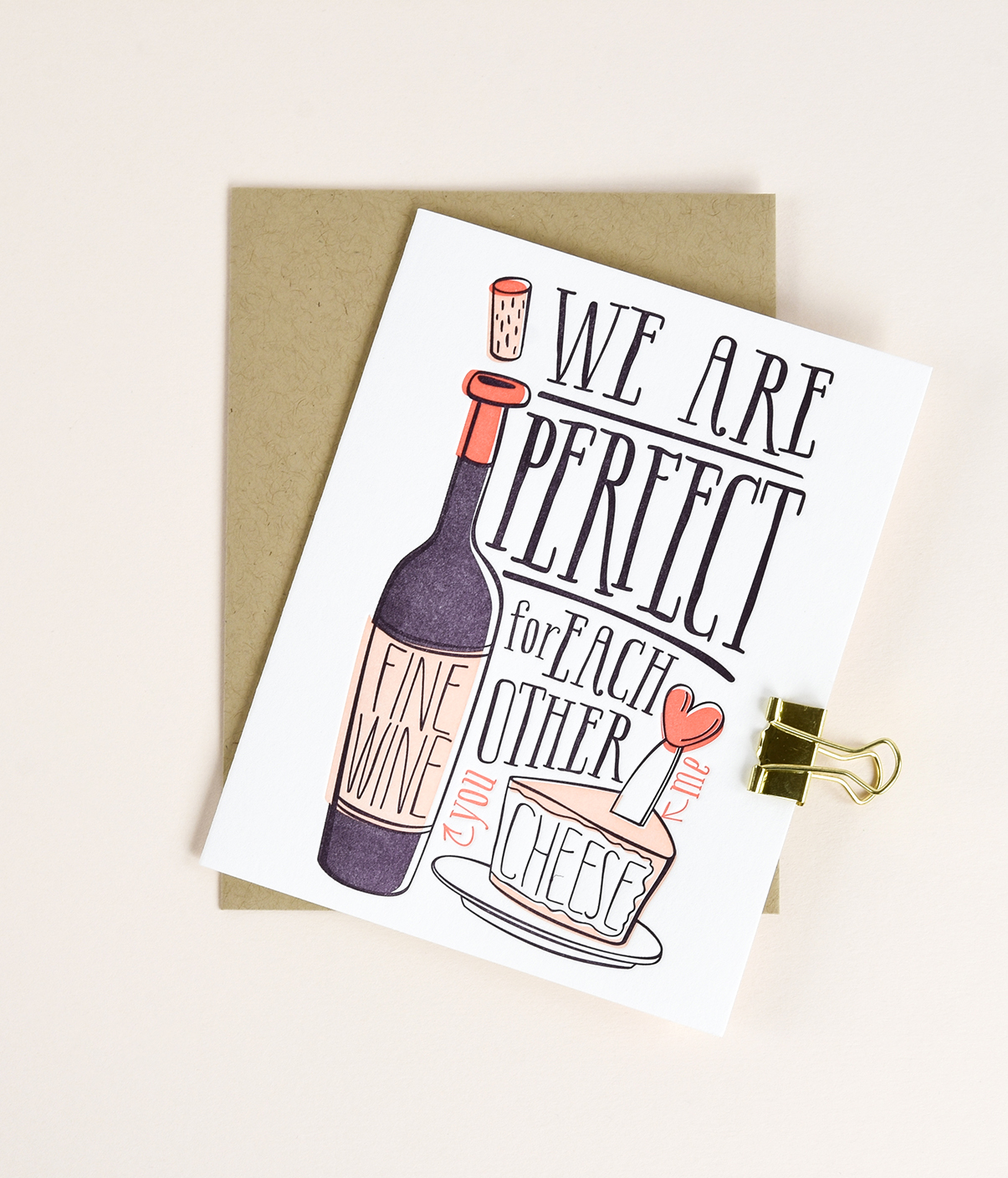 13 New Letterpress Valentine's Day Cards from Elum