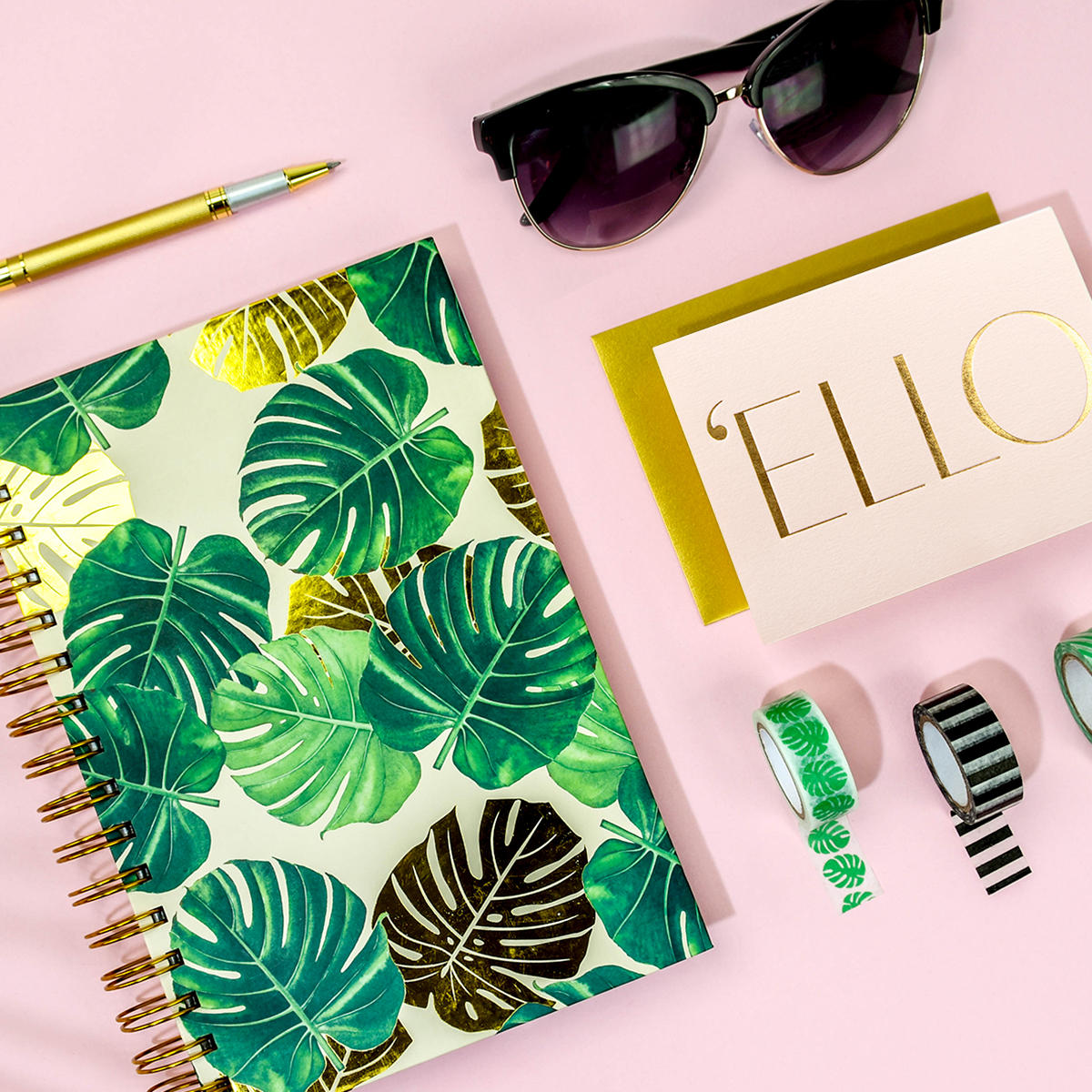 Elum Summer of Stationery Jet Setter Collection