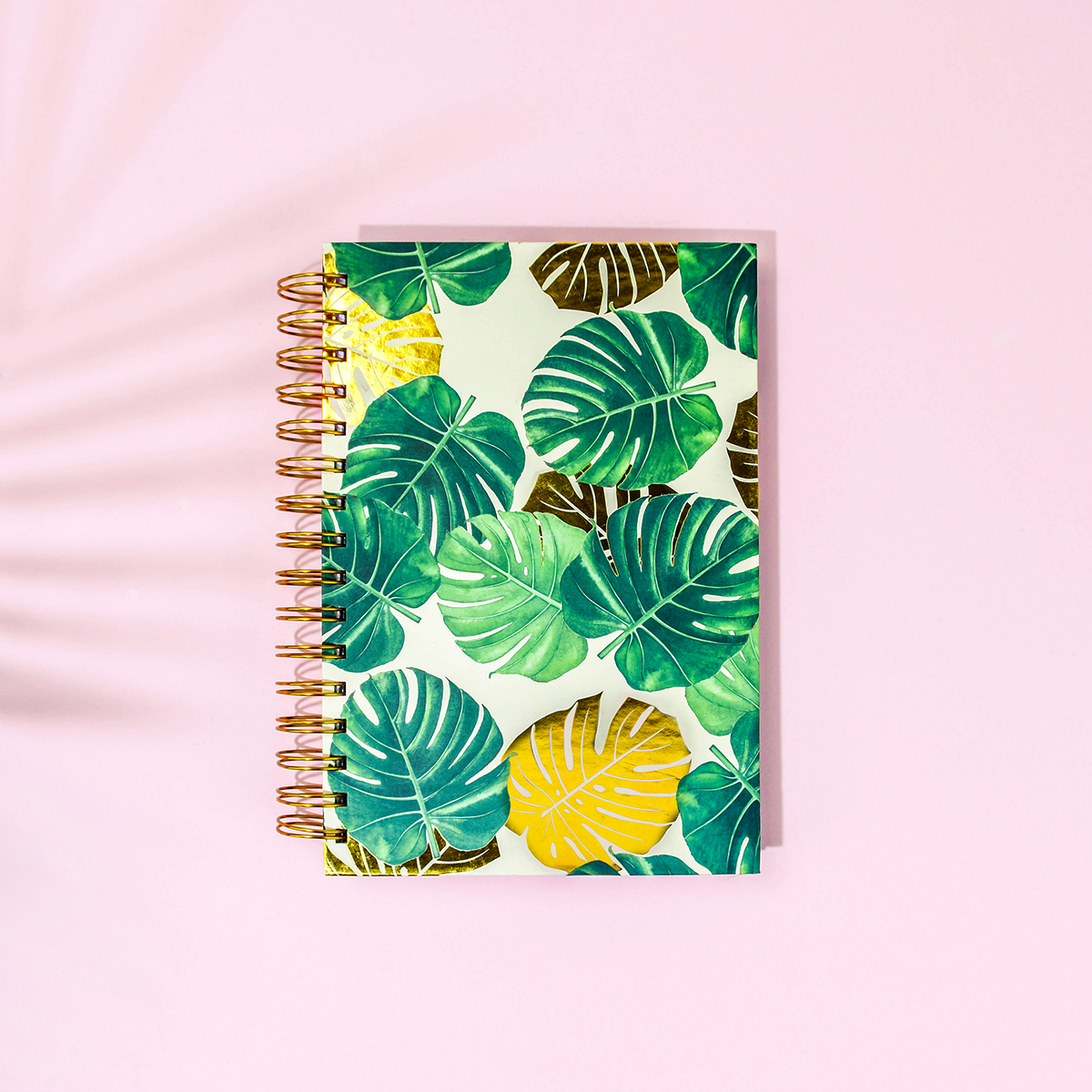 Elum Monstera Leaves Spiral Journal | Summer Stationery Travel Kit