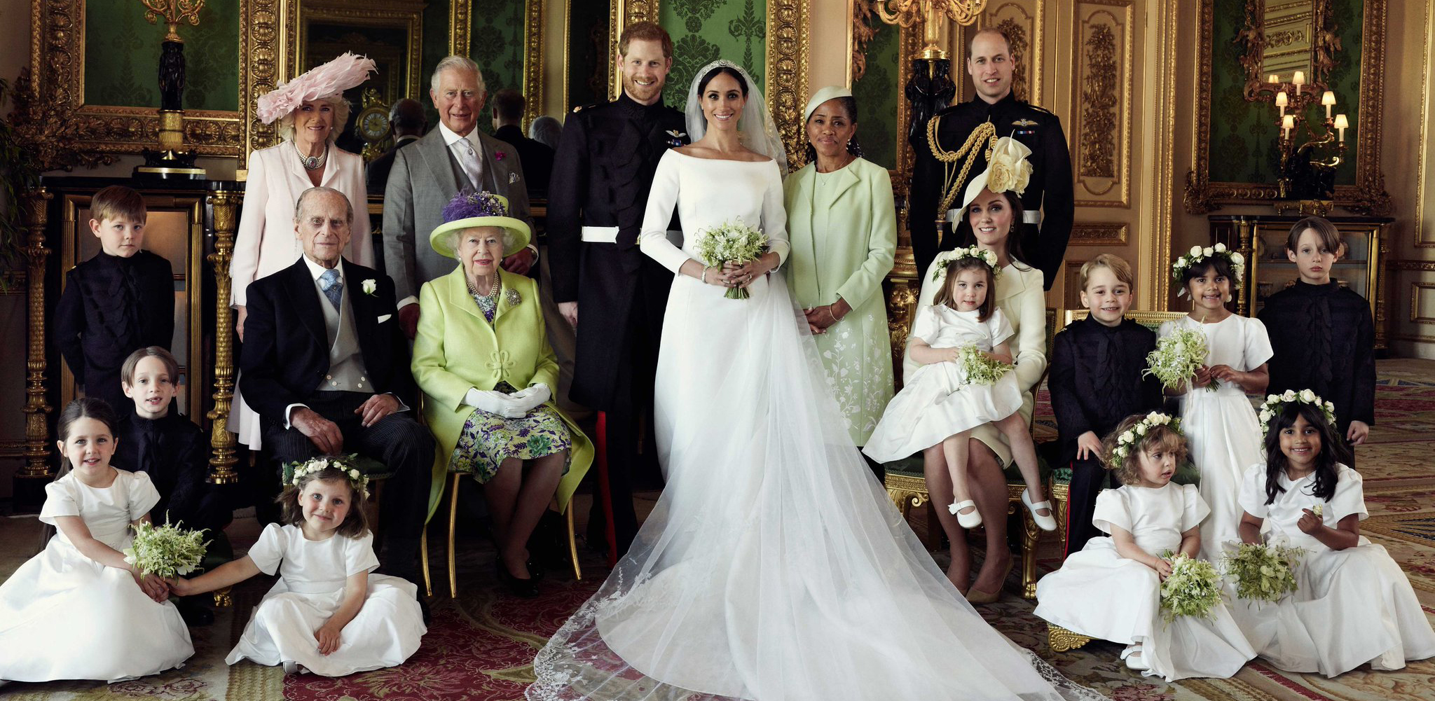 Harry & Meghan's Official Wedding Photos